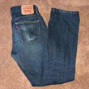 Levi's Vintage 514 Slim Straight Medium Wash Jeans
